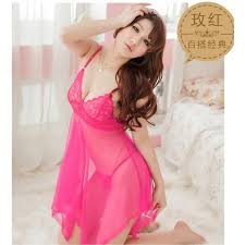 Baju Tidur baju tidur wanita saiz s m btw03 pink