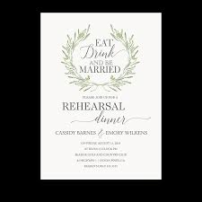 rehearsal dinner invite eat drink be married wedding rehearsal dinner invite