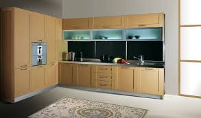 Wall Kitchen Cabinets With Glass Doors 0 5mm Pvc Membrane Mdf Kitchen Cabinet With Frost Glass Wall