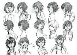 disney character design visual development jin gogo modelsheet