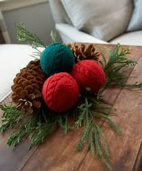 cabled holiday balls free pattern 4500 free patterns to knit