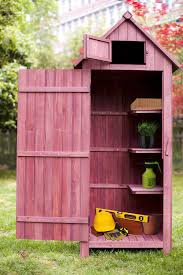 Outdoor Storage Cabinets With Shelves Storage Auburn Color Wooden Garden Cabinet Wooden Lockers