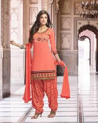 palkhi inc patiala suit in pink combination d0259 85 00