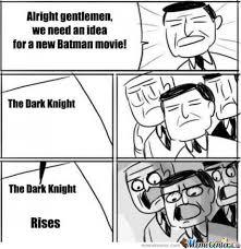 White Knight Meme - dark knight rises by drunkenmaster23 meme center
