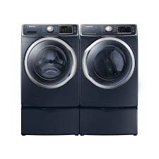 Samsung Pedestals For Washer And Dryer White Samsung Dv42h5600eg Ac Wf42h5700ag A2 High Efficiency Front Load