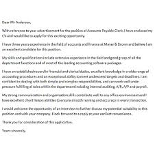 best ideas of accounts payable manager cover letter examples in