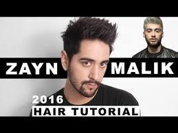 mens hairkuts 20015 zayn malik hair tutorial cut and style men s hair tutorial
