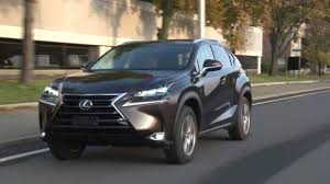 lexus sport utility hybrid new 2015 2017 lexus nx200t nx300h hybrid review youtube