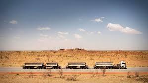 volvo trucks in australia 175 tonne road train in australia volvo trucks magazine
