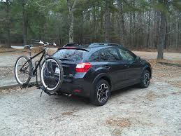grey subaru crosstrek 2017 bikes 2017 subaru crosstrek trailer hitch torklift ecohitch