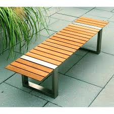 Commercial Outdoor Bench Garden Bench Contemporary Wooden Boca By Cristian Wicha
