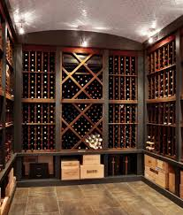 awesome wine crates decorating ideas for wine cellar mediterranean