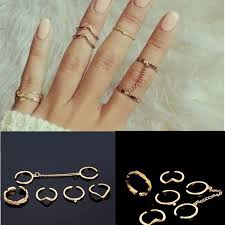 rings set images Knuckle rings set cheap prices free shipping also get amazing gifts jpg