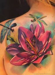 80 brilliant flower tattoos on shoulder