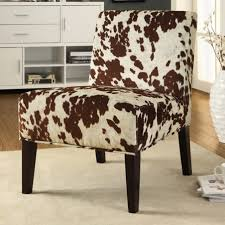 digital imagery on cowhide office chair 3 brown cowhide desk chair