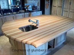 Wood Kitchen Countertops Kitchen Countertops A Comparison Of Nine Popular Materials