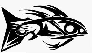 fish tribal style by kearnold on deviantart