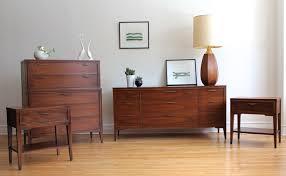 mid century modern kent coffey bedroom set in 3726 west montrose