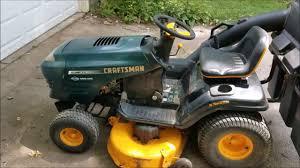 electrolux craftsman poulan pro lawn tractor youtube