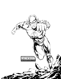 dc comics the flash by danerot lineart flash family friends