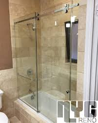 Shower Door Nyc Serenity Sliding Door Shower Door New York Custom Glass