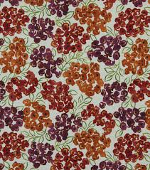 upholstery fabric robert allen luxury floral poppy joann