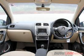 volkswagen pickup interior vw ameo petrol review not exactly polo with a boot