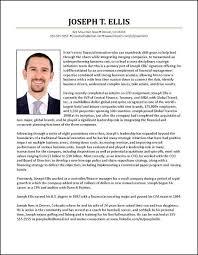 Cfo Resume Template Resume Bio Examples Sample Executive Biography Executive