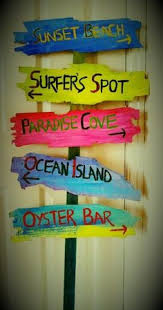 beachy signs we all need a bit of island time in our busy lives diy