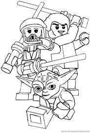 färglägg lego star wars yoda ritmallar lego coloring pages