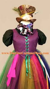 Size Halloween Costumes 5x Mad Hatter Alice Wonderland Size Halloween Costume
