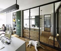 home office modern office interior design white furnishings
