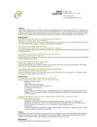 Resume Templates For Undergraduate Students Art Resumes Resume For Your Job Application