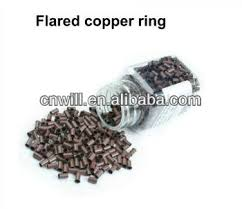 micro rings colored micro rings flared copper ring hair hair extensions