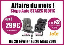 siege auto autour de bebe affaire du mois siège auto isofix de joie at autour de bebe