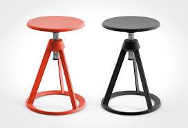Adjustable Height Chairs Piton Adjustable Height Stool Lumberjac
