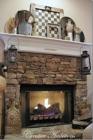 Rustic Decorations For Homes 25 Best Rustic Mantle Decor Ideas On Pinterest Fall Fireplace