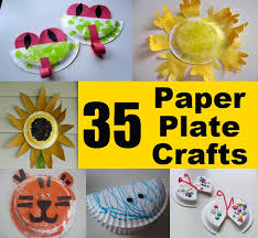 Garden Crafts For Kids - 35 easy and unique paper plate crafts for kids diycozyworld