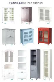 Linen Cabinet For Bathroom Narrow Cabinet Bathroom Third Linen Cabinets For Small Spaces