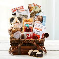 zabar s gift basket zabar s story basket 110 a taste of new york in a basket