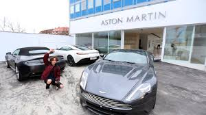 aston martin showroom visiting aston martin copenhagen s new showroom youtube