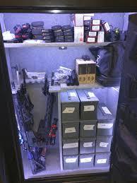 is led light safe how to light your gun safe diy and parts list motion sensing on