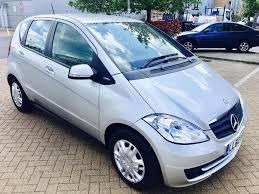 mercedes a class history mercedes a class 1 5 l blue efficiency only 22k 1 owner