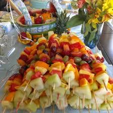 graduation fruit arrangements graduation fruit bouquet kabobs