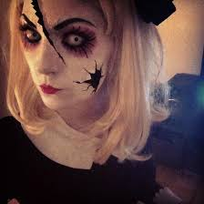 get a creepy look with halloween doll makeup entertainmentmesh