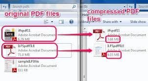 Compress Pdf Free Software To Bulk Compress Pdf Files To Reduce Size Of Pdf