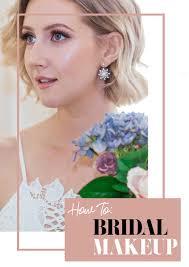 bridal makeup tutorial a classic bridal makeup tutorial hello farrell