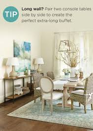 6 summer tips for your home how to decorate use two console side by side for long large walls