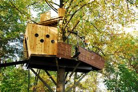 three house pirate ship treehouse construction treehouse
