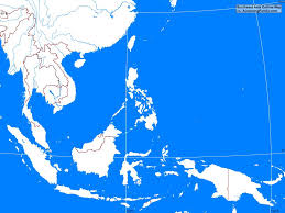 Thailand Blank Map by Southeast Asia Outline Map A Learning Family